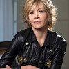 "Actress Jane Fonda, starring in the movie ""Peace, Love & Misunderstanding,"" and"