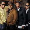 Jackie, left, Tito, Jermaine and Marlon Jackson in a 2009 file photo. The brothers are now preparing their return to the stage nearly three years after their brother Michael's death. (AP Photo/Chris Pizzello, File)