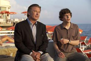 "Alec Baldwin, left, and Jesse Eisenberg in ""To Rome With Love"""
