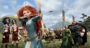 This film image released by Disney/Pixar shows the character Merida, voiced by