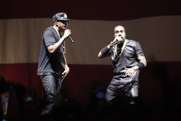 Jay-Z, left, has five BET Award nomination going into the July 1, 2012 awards s