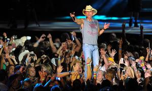 Kenny Chesney performs at Angel Stadium in Anaheim in the Brothers of the Sun c