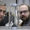 "David Strathairn, left, and Paul Giamatti in ""Cold Souls"""