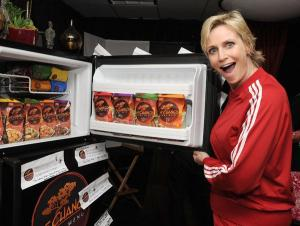 Jane Lynch attends P.F. Chang's Home Menu at the Frozen Moments Gift Lounge backstage at the Nokia Theatre celebrating the 62nd Primetime Emmy Awards on August 28, 2010 in Los Angeles.  August 28, 2010  Photo by Mark Sullivan/WireImage.com