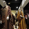 "In this Feb. 8, 2011 photo, costumes designed by Lindy Hemming,  from the film ""Clash of the Titans"", are seen on display at the 19th Annual ""Art of Motion Picture Costume Design"" exhibit at the Fashion Institute of Design and Merchandising Museum and Gallery  in Los Angeles. (AP Photo/Matt Sayles)"