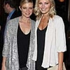 """HOLLYWOOD, CA - FEBRUARY 15:  Actresses Amy Smart (L) and Malin Akerman (R) attend at the Opening Night of """"Rock of Ages"""" at the Pantages Theatre on February 15, 2011 in Hollywood, California.  (Photo by Chelsea Lauren/Getty Images for Pantages Theatre)"""