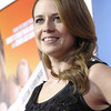 "Actress Jenna Fischer arrive at the premiere of the feature film ""Hall Pass"" in Los Angeles on Wednesday, Feb. 23, 2011. (AP Photo/Dan Steinberg)"
