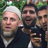 "In this film publicity image released by Drafthouse Films, from left, Nigel Lindsay, Kayvan Novak and Arsher Ali are shown in a scene from ""Four Lions."" (AP Photo/Drafthouse Films)"