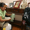 In this March 10, 2011 photo Merry Maids employee Esther Jimenez cleans a home in Burbank, Calif. Spring cleaning is easier and more efficient if you use the right tools, techniques and products.