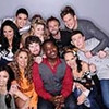 "The remaining 11 finalists on ""American Idol"" are, clockwise from top left, Pia Toscano, Stefano Langone, Lauren Alaina, Paul McDonald, James Durbin, Scotty McCreery, Naima Adedapo, Jacob Lusk, Casey Abrams, Haley Reinhart and Thia Megia. (Michael Becker / FOX)"