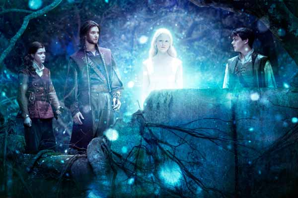 """The Chronicles of Narnia: The Voyage of the Dawn Treader"" features Georgie Henley, left, Ben Barnes, Laura Brent and Skandar Keynes."