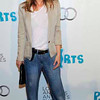 Actress Ellen Pompeo poses at the 16th Annual Los Angeles Antique Show Opening Night Gala to benefit P.S. Arts, Wednesday, April 13, 2011, in Santa Monica, Calif. (AP Photo/Chris Pizzello)