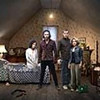 "From left, Lenora Crichlow, Aidan Turner, Russell Tovey and Sinead Keenan star in the BBC series ""Being Human."""