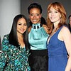NEW YORK - NOVEMBER 20:  (L-R) Singer Kat DeLuna, model Selita Ebanks, and actress Alicia Witt attend the Women's Coalition for Empowerment and Opportunities fundraiser to benefit Shine on Sierra Leone at Twelve West 21st Street on November 20, 2008 in New York City.  (Photo by Scott Gries/Getty Images)