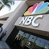 Guests line up outside of NBC Burbank for the Tonight Show.  NBC will be moving it's operation the Universal Studios.