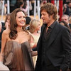 Angelia Jolie and Brad Pitt arrive at the Screen Actors Guild Awards in Los Angeles, CA, January 27, 2008.