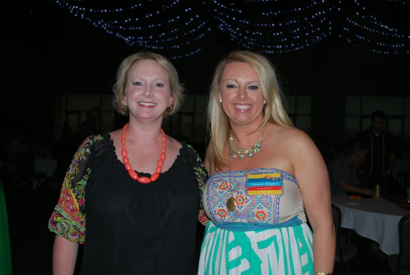 Megan Cuddy and Gracie Ziegler