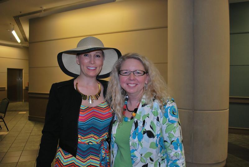 Candace Geisler and Donna Feyen
