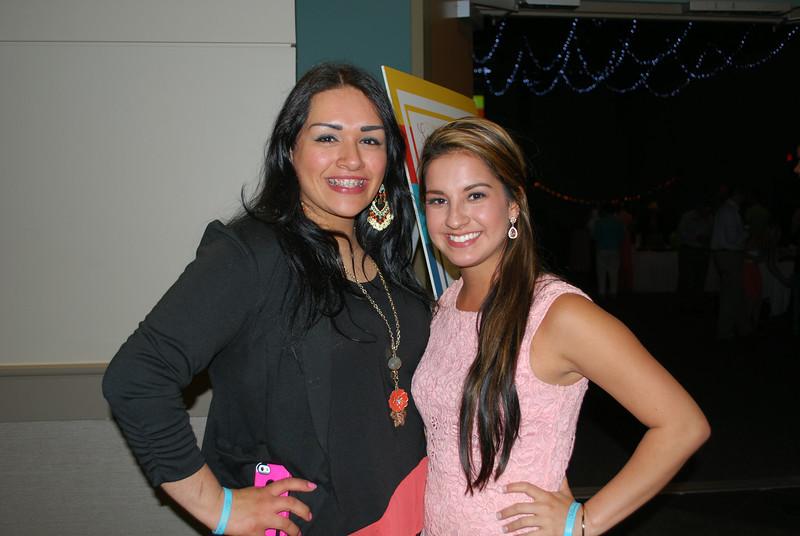 Mayra Ramirez and Madison Alexander