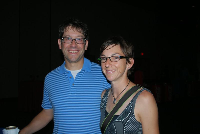 Jon Bitter and Alison Jumper