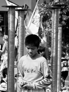 Before the Dragon performance ...  Ross Hamamamura, e510  www.RDHphoto.net