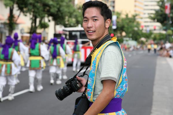 Pan Pacific Festival Parade - Milton Hee