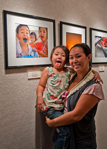 "Cher Takemoto (with daughter) ""Honorable Mention"" entry into the Canon Gallery   ...   Photographer: Leah Prais"