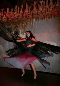 DancingSpanishGal   from trip to Shanghai EXPO,  Photographer : Fanny Li,