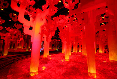 RedPoles  from trip to Shanghai EXPO,  Photographer : Fanny Li,