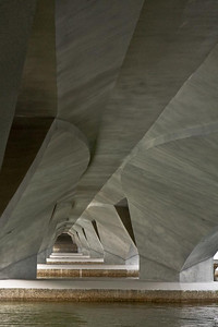 Under the Esplanade Bridge .... Photographed by Jack Ebey