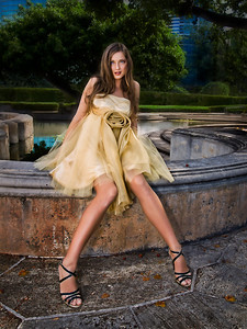 Model: Sasha, Designer:  Natasha Li ...  Photographer Ross Hamamura, www.RDHphoto.net