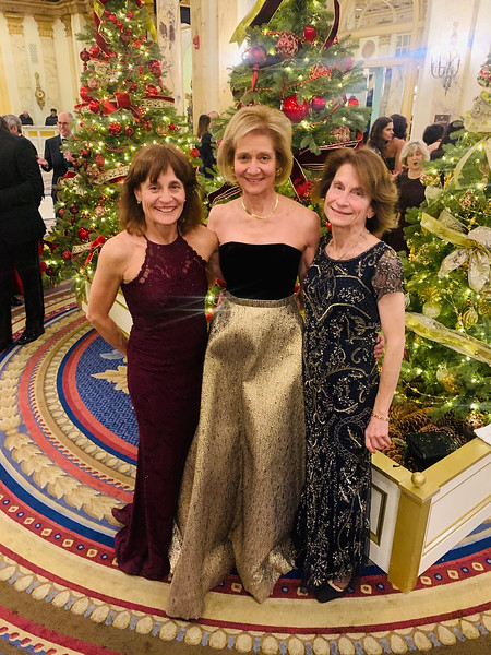 The fabulous Lingos sisters, from left, Tamara, Tania and Thalia Lingos, of Milton