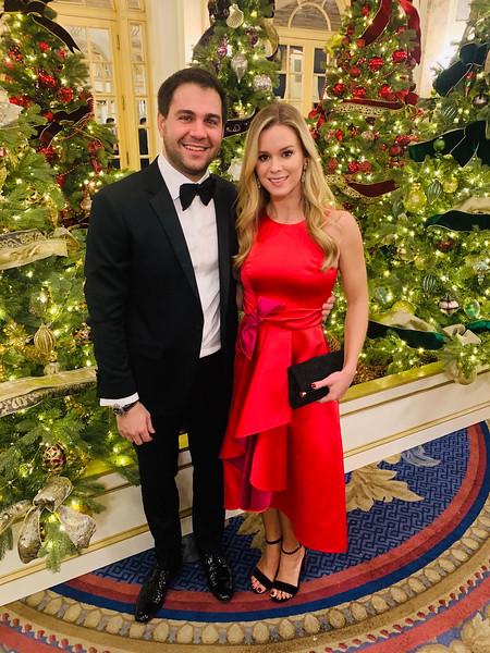 Mike and Alexandra Kalos of Boston
