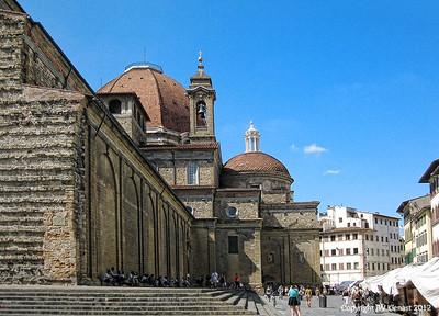 Florence, Italy; Basilica de San Larenzo, by Carla