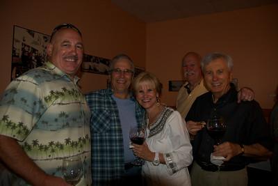 Joe Bendix, Buddy & Monique Rogers, Al Dearborn, Lenny Indianer