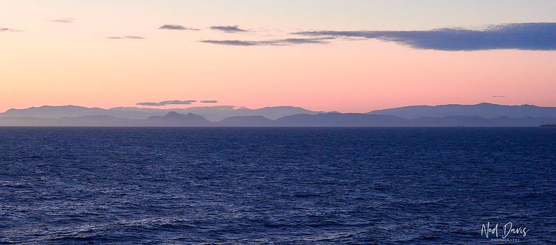Mediterranean Sunset over Spain