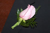 Pink Boutonniere for the Groom