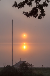 6 October 2016:  Sunrise on Lake Lansing on a Foggy Morning (1), 1 of 3