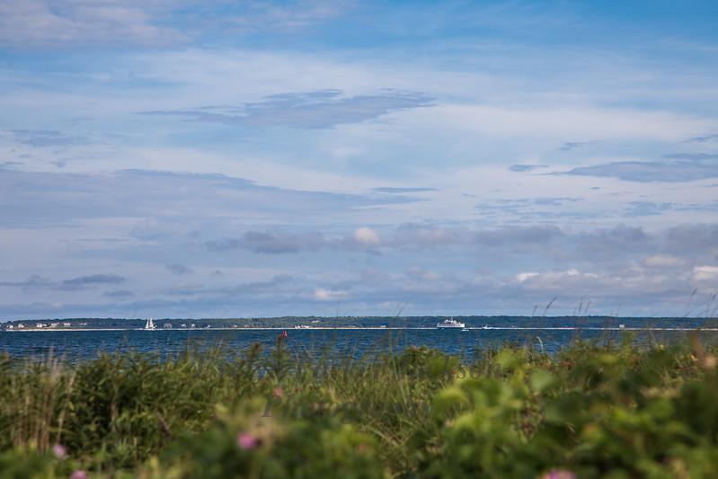 A Summer Afternoon on Vineyard Sound