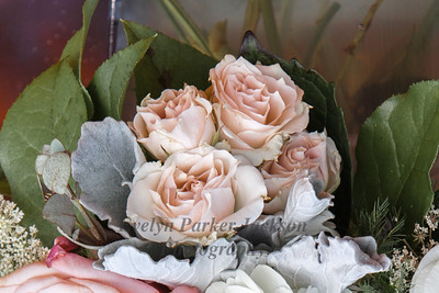 Pale Melon Pink Roses for a Summer Party