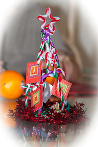 Handmade Miniature Christmas Tree for Travelers