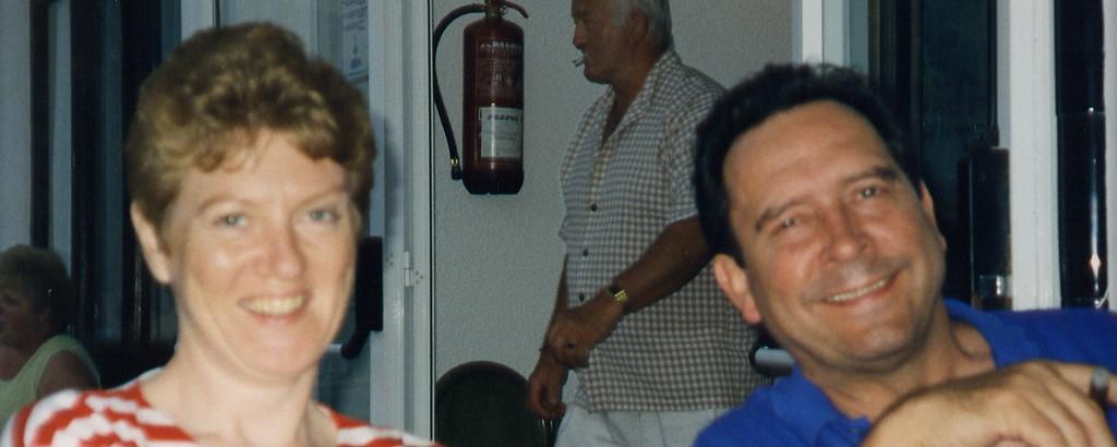 Debs and John in Majorca in 1998