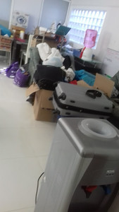 1 floor walk down - Household things (& more coming including 4+ BIG trash bags of clothes & things)