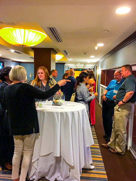 Kicking off the first ever eRetailer Summit with a great networking hour.