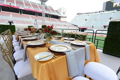 5-13 Dinner on the 50 yard line