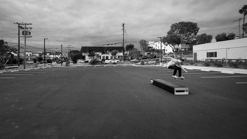 Improvised Skate Park