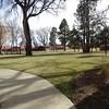 Campus view from Villa looking toward duplexes