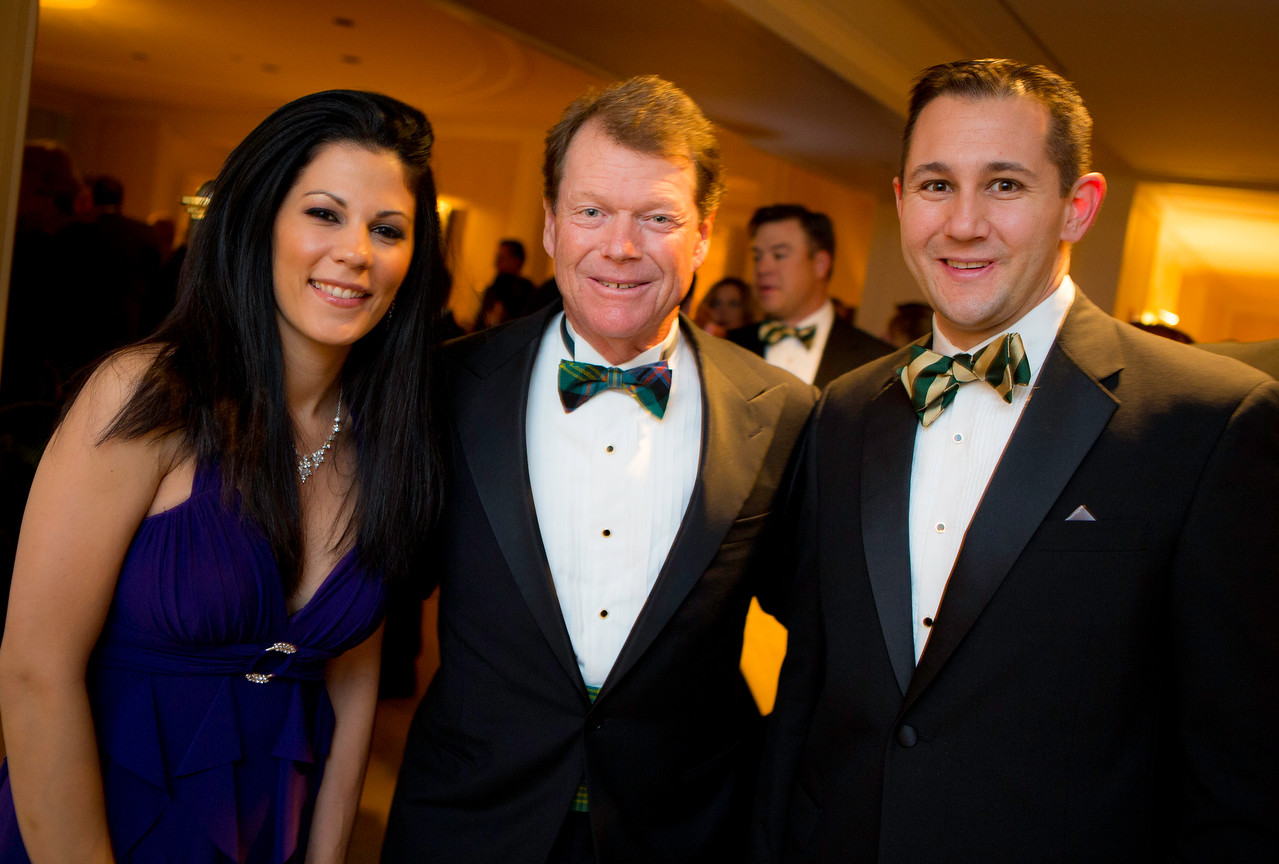 Western Golf Association Green Coat Gala benefiting the Evans Scholars at The Peninsula Chicago hotel including guest of honor Tom Watson on Friday, Nov. 9, 2012.<br /> © Charles Cherney Photography