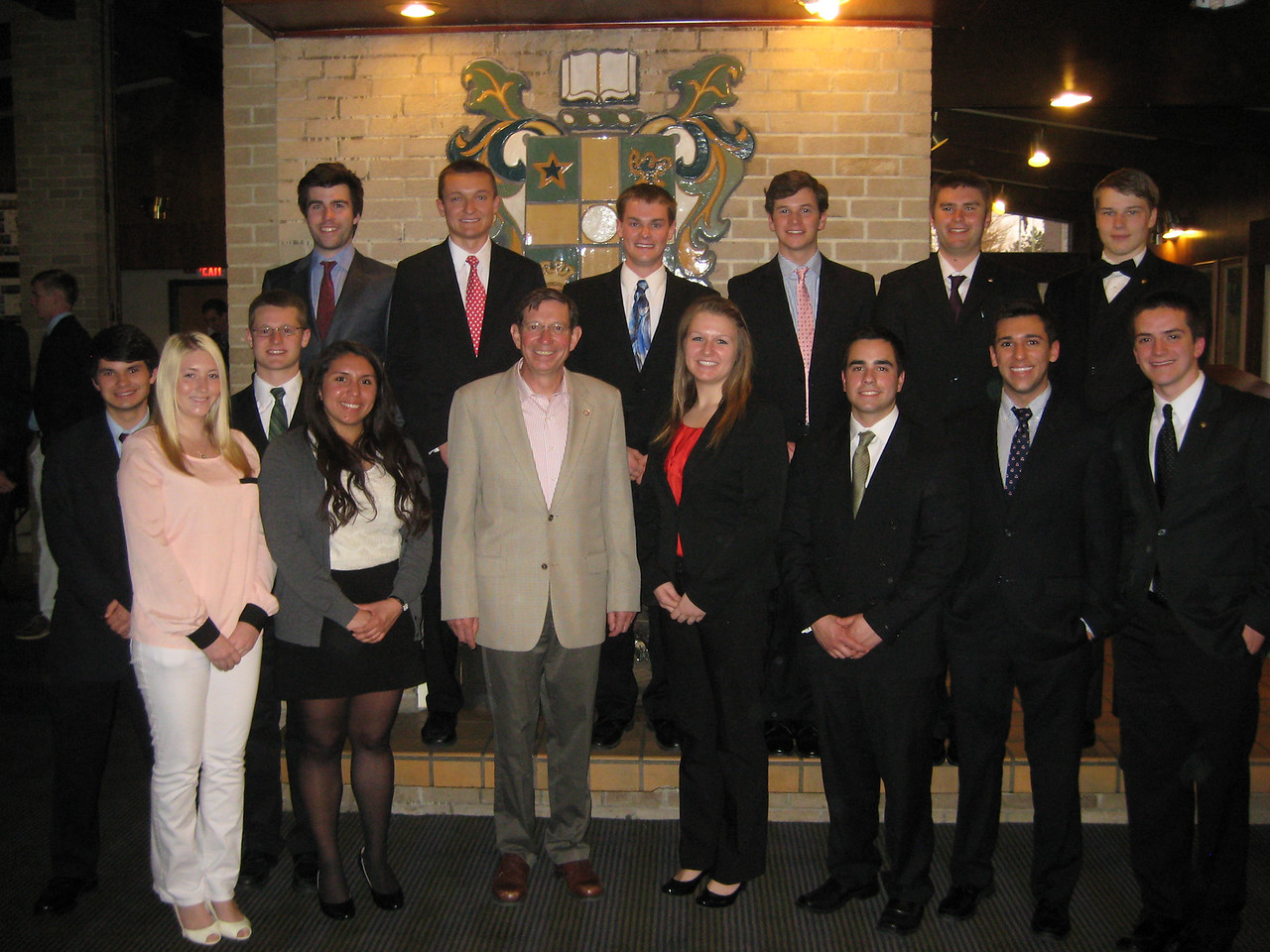 "Miami University sophomores and juniors with University President David Hodge<br />  <a href=""http://www.miami.evansscholars.org"">http://www.miami.evansscholars.org</a>"