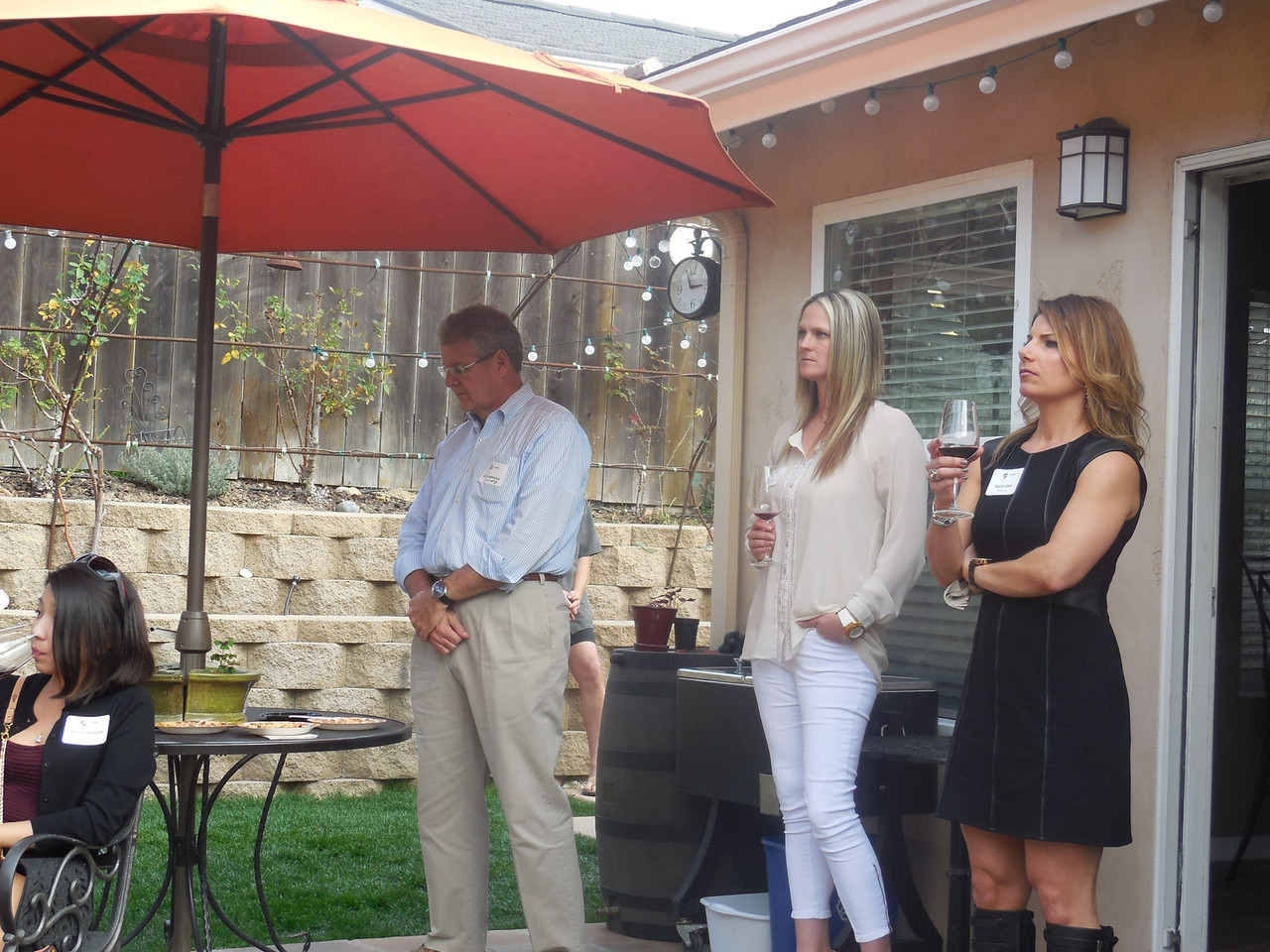Jim Shaughnessy (Marq. '82), Megan Singer, and Marie Klaas (Mo. '03)
